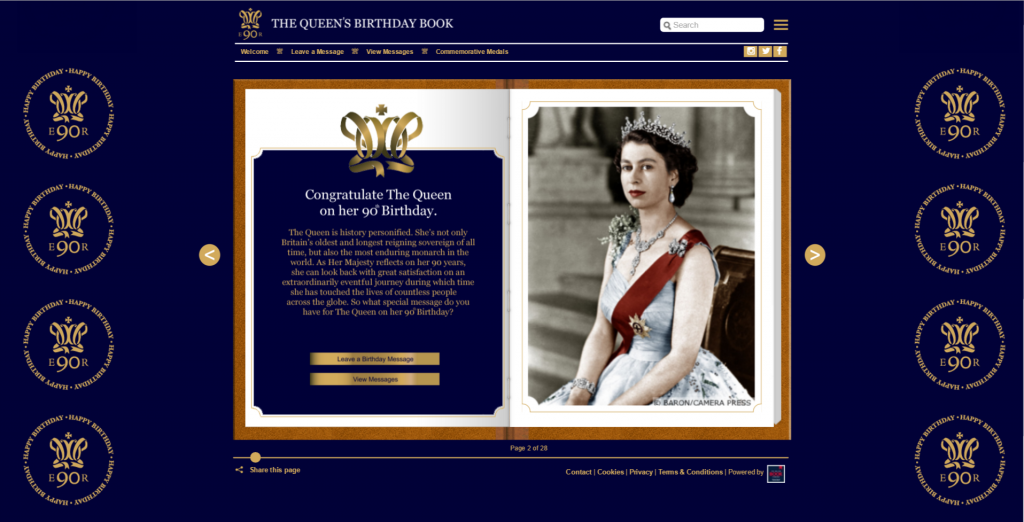 The Queen's Birthday Book