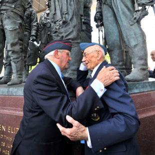 Unveiling the memorial